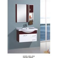 Wholesale hanging cabinet / PVC bathroom cabinet / wall cabinet / white color for bathroom 80 X49/cm from china suppliers