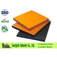 Wholesale RoHS Orange Phenolic Plastic Sheets for Gears / 3.0mm - 100mm from china suppliers