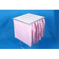 Wholesale High Efficiency F7 Pocket Air Filter Pink Dust Collector Filter Bags Without Clapboard from china suppliers