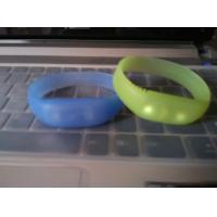Quality sound and motion activated remote controlled led wristband silicone bracelets for sale