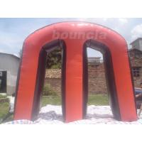 Wholesale Red Commercial Grade PVC Tarpaulin Inflatable M Millennium Paintball Bunker for Outdoor Sports from china suppliers