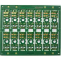 Wholesale Double sided impedance PCB thin FR4 printed circuit board 0.8mm Thickness from china suppliers