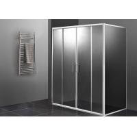 Wholesale Double Sliding Door Shower Enclosure 1000 X 800 , Rectangular Shower Enclosure Glass from china suppliers