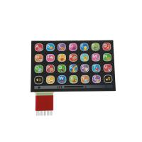 Buy cheap Custom Made Keypad Membrane Switch Overlay With 3M Adhesive from wholesalers