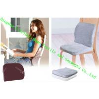 Wholesale Memory Foam Lumbar Support Cushion For Office Chair , Custom Bolster Pillows from china suppliers