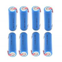 Wholesale Cylindrical 3.7 V 18650 Rechargeable Battery With Tab , Steady Performance from china suppliers