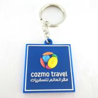 Customized logo promotional cheap price colorful gift 2D 3D soft PVC rubber keychains doube side