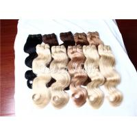Wholesale Full Cuticles Blonde 100% Brazilian Human Hair Extensions With Double Drawn from china suppliers
