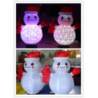 Wholesale 1m Oxford Lighting Inflatable Snowman for Christmas and Promotion Decoration from china suppliers