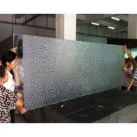 Wholesale Ultra Clear Sculpture Art Tempered Glass Door from china suppliers
