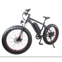 Wholesale Geared Electric Fat Bike 48v 750w With Sinewave System , High Speed 35-40km/h from china suppliers