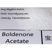 Wholesale Bodybuilding Boldenone Steroids Boldenone Acetate White Crystalline Powder gains use from china suppliers