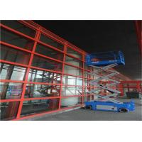 Quality Ladder Scaffolding Scissor Lift Table , Elevated Work Platform Table Easy Maintenance for sale
