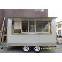 Wholesale Custom Window Ice Cream Cart With Food Concession Trailers Air Conditioning from china suppliers