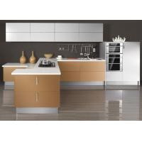 Wholesale Fashion / Modern Showroom Kitchen Cabinets , UV Finish Pull Out Kitchen Cupboards from china suppliers