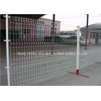 Wholesale White Iron Metal Garden Mesh Fencing Dirickx Axis Corrosion Resistant from china suppliers