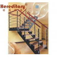 Wholesale Steel Wood Staircase for Villa (SJ-808) from china suppliers