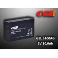 Wholesale Maintenance Free 6V 10AH Gel Lead Acid Battery Sealed For Electric Power from china suppliers