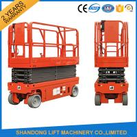 Wholesale Small Mobile Electric Hydraulic Lift Table for Rental / Material Handling / Aerial Work from china suppliers