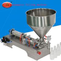 Buy cheap Pneumatic type filling machine for high viscosity liquid and paste from wholesalers
