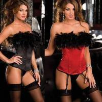 Wholesale Daily Double Sexy Lingerie Corsets, Includes G-string from china suppliers