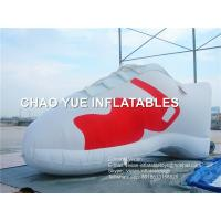 China Advertising Giant Inflatable Shoes Customized Inflatable Replica Shoes Model on sale