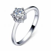 Wholesale hot sale sterling silver jewelry silver ring diamond for gift or welding from china suppliers