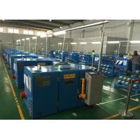 Wholesale Alloy Copper wire twister machine , S Lay Sky Blue wire stranding machine from china suppliers
