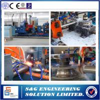 Wholesale Adjustable Speed Spiral Pipe Welding Machine , Stainless Steel Tube Making Machine from china suppliers