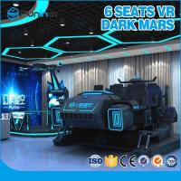 Wholesale Mech Style Virtual Reality 9D VR Cinema Six Players Indoor VR Game With VR Helmet from china suppliers