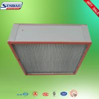 Wholesale HVAC System Air Handling Industrial Air Filters Unit Deep Pleated Panel from china suppliers