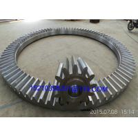 Wholesale Custom Bevel Gears With Straight Teeth / Cast Iron or Aluminum Tapered Gears from china suppliers