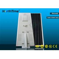 Wholesale High Power Smart Solar LED Street Light with CE RoHs Certificates from china suppliers