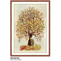 Wholesale Tree pattern floor tiles luxury floor decoration from china suppliers
