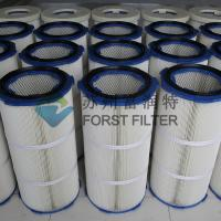 Wholesale FORST Industrial Polyester Fiber Paper Air Filter Media Dust Filter Cartridge from china suppliers