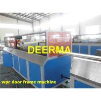 Wholesale Wood Plastic Composite Production Line WPC PVC Door Making Machine from china suppliers