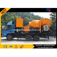 Wholesale S Pipe Valve Portable Concrete Mixer Pump Truck Motor Power 37kw from china suppliers