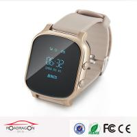 Quality Two-way Communication SOS Alarm Wrist Watch GPS Tracker For Person Safety for sale