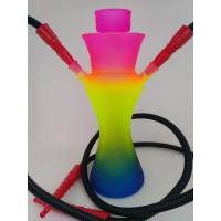 Cangzhou hand blown mix color big glass hookah pipes