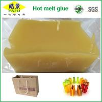 Wholesale Good Viscosity High Soften Point Psa Yellow Hot Melt Pressure Sensitive Adhesives Block For Hand Carry Bag from china suppliers