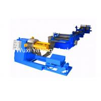 Quality High Speed Auto Straightening Steel Slitting Lines With Hydraulic Cutting for sale