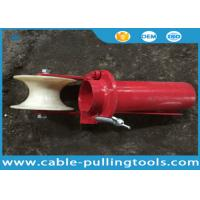Wholesale Cable Laying Equipment , Underground Cable Tools Canble Roller Steel Bellmouths With Roller from china suppliers