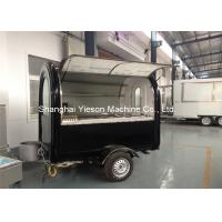 Wholesale Fiberglass Mobile Restaurant Trailer Outside snack Kiosk with CE Food Cart Trailers For Sale from china suppliers