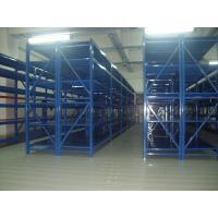 Wholesale blue metal shelves Anti - rust medium duty shelving with spray paint finished from china suppliers