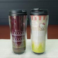 Wholesale PP Plastic Change Color Frozen  Kids Coffee Mugs Black Red Yellow White from china suppliers