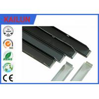 Wholesale Solar Frames Aluminum Extrusions , Silver Anodized Aluminium Solar Mounting Structure from china suppliers