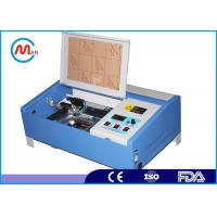 Wholesale Industrial 40 Watt Co2 Mini Laser Cutting Machine For Acrylic Crytal Glass from china suppliers