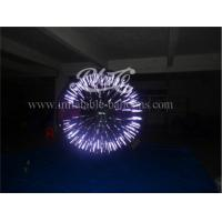 Wholesale Customized Shinning Inflatable Zorb Ball , Human Body Zorbing Ball EN15649 from china suppliers