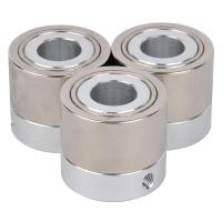Wholesale Radial Permanent cylindrical neodymium ring Magnet with stainless and iron for motor from china suppliers