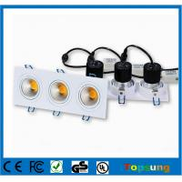 Wholesale 3X6W 2015 new product dimmable cob led downlight from china suppliers